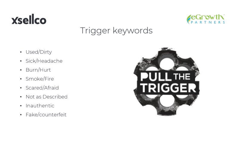 egrowth trigger keywords slide protect your amazon account