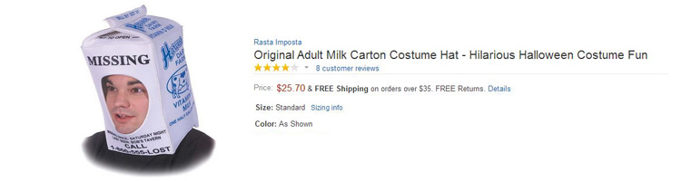 funniest amazon reviews milk carton hat