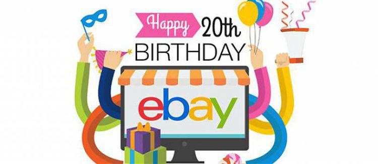 eBay turns 20 [Infographic]