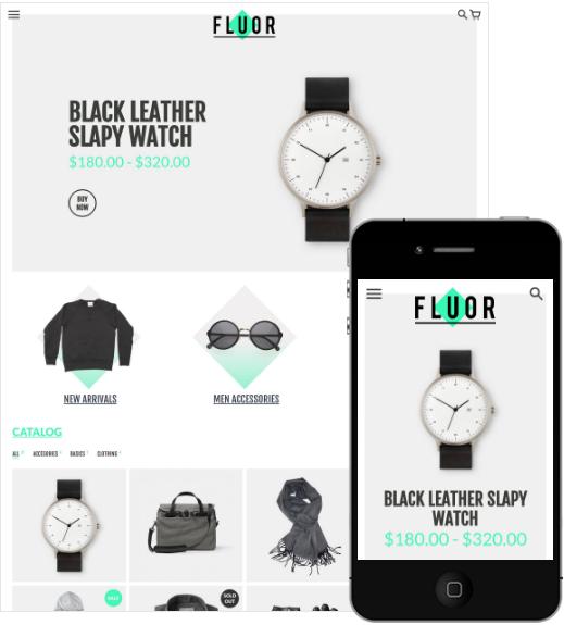 Shopify ecommerce theme