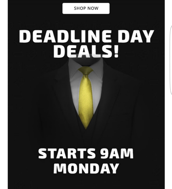 deadline day pro direct sports
