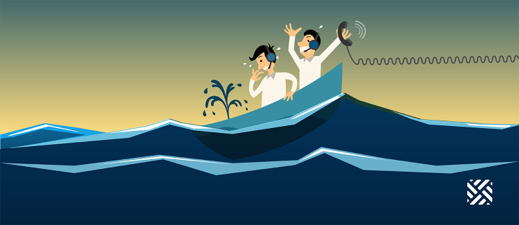 How to save your customer support agents from drowning