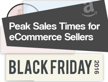 Peak sales times for Black Friday