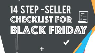 14-Step seller checklist for Black Friday