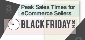 Peak sales times for online sellers on Black Friday [infographic]