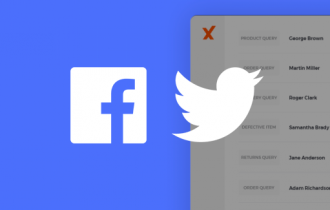 Sign into xSellco faster with Facebook and Twitter