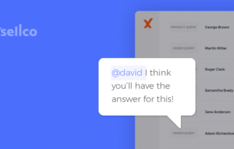 Communication just got easier with @mentions