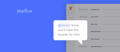 Team communication just got easier with @mentions