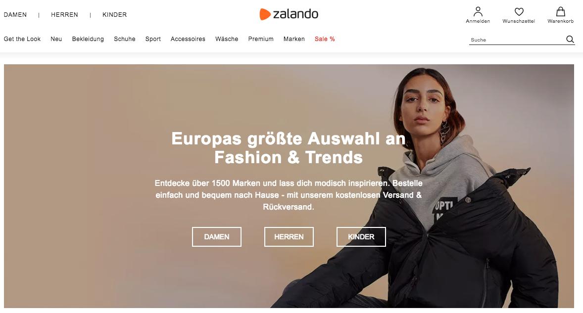 european marketplaces zalando