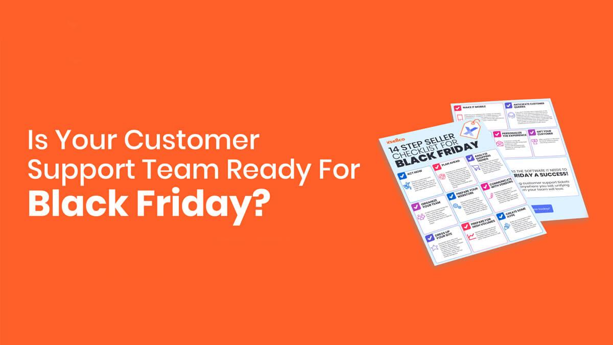 14 point seller checklist for Black Friday