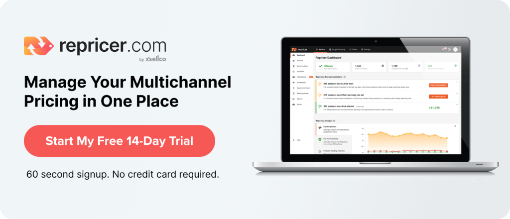 Multichannel pricing